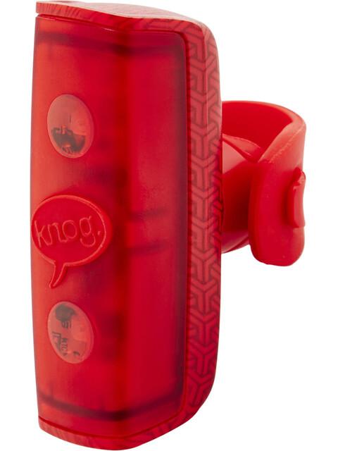 Knog POP r Fietsverlichting rode LED rood